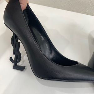 Saint Laurent Shoes - Saint Laurent Opyum 110 Leather Point Pump
